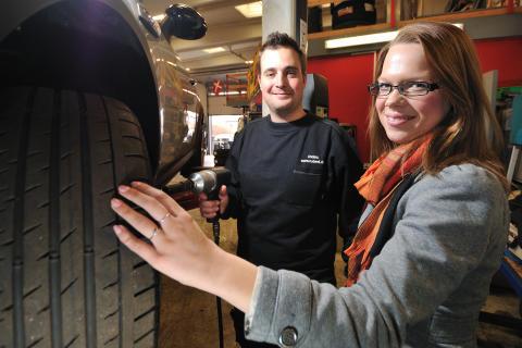 Gode råd fra dækspecialisten giver bilisten tryghed