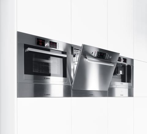 Smarta inbyggnadsserien Perfect Match ger ett stilrent kök – flexibla diskmaskiner gör serien komplett