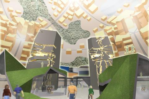 Den virtuella världsutställningen öppnar 2011 – utvecklingscenter etableras i Stockholm