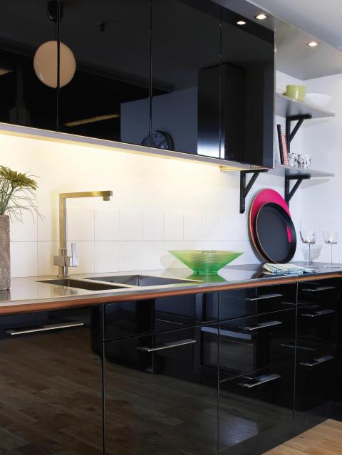 Diskbänk i rostfritt stål