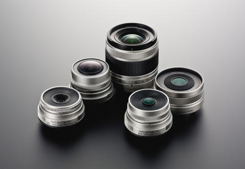 Fire superkompakte Pentax-objektiver med den nye Q-fatning
