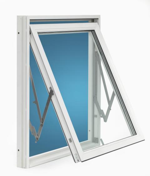 Fönster från Skånska Byggvaror - aluminiumklädda och med lågt U-värde