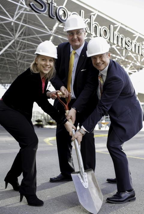 Byggstart för Stockholmsmässans nya entré
