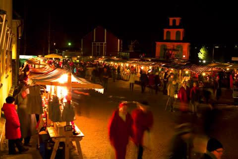 Gammeldags Julmarknad vid Falu Gruva