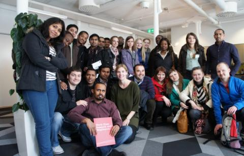 Stipendiater från 32 länder diplomeras av SI