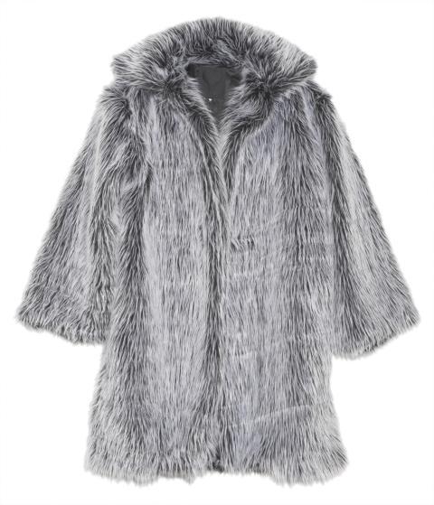 Blackheart Faux Fur Coat