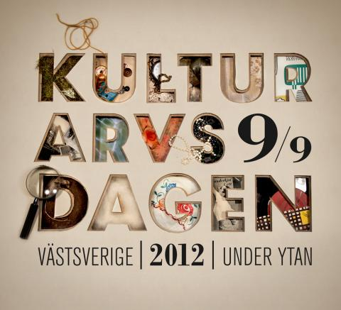 Kulturarvsdagen i Västsverige.