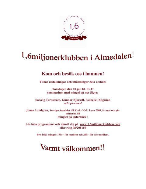 Utställning i Visby hamn!