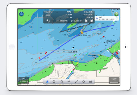 Digital Yacht launch US marine navigation app for iPad called NavLink US