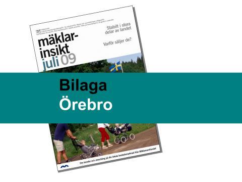 Örebro län: Stabil bostadsmarknad i Örebro