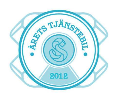 Säljarnas utser årets tjänstebil 2012