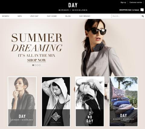 Boozt Group lancerer DAY BIRGER ET MIKKELSENs officielle online shop