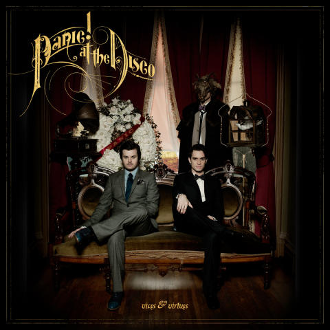 "Panic! At The Disco släpper sitt tredje studioalbum ""Vices & Virtues"" 23/3"