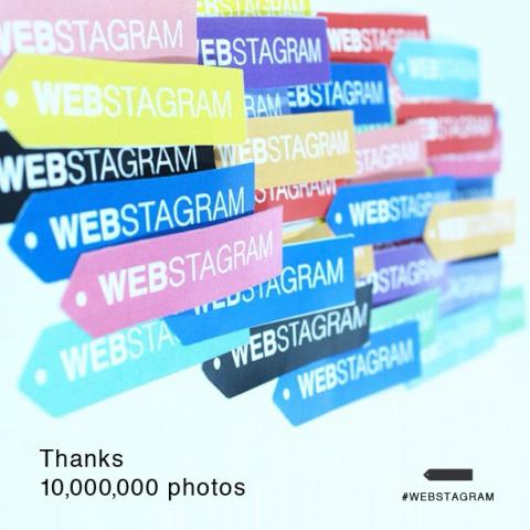 Instagram Web Viewer Webstagram Hits 100 Million Page Views and 10 Million Tags