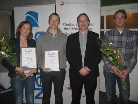 Strandberg Guitars och Novortex får Nordeas resestipendium 2013