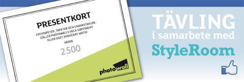 Photowall i samarbete med StyleRoom