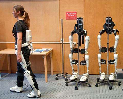 Uppfinningar som Robotdräkten utvecklar vården