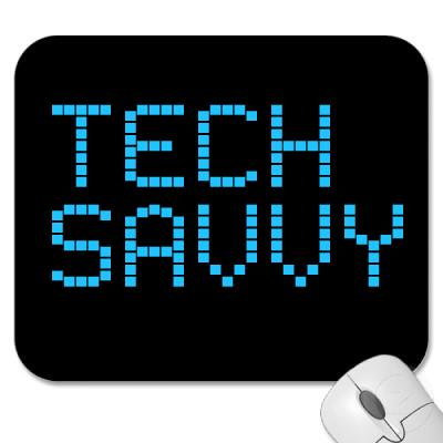 tech savvy Tech savvy is a one-day conference designed to give sixth to ninth grade girls and their parents an opportunity to experience firsthand how science, technology, engineering, and math (stem) fields can lead to exciting careers.