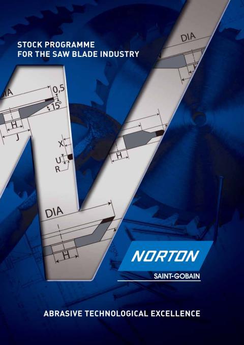 Norton lanceret et nyt sortiment til sav skærpning