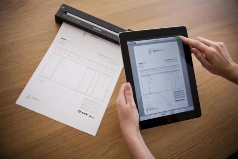 Världens minsta A4-skrivare som kan skriva ut från Windows, Mac OS, Apple iOS* samt Android