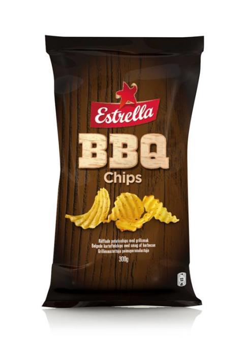 Nyhet! Estrella BBQ Chips