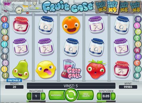 Galen vinst på Fruit Case - 1,7 miljoner kronor