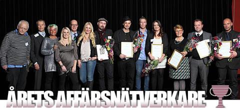 Erica Johansson nominerad till Årets Affärsnätverkare 2012!