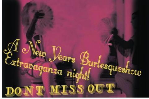 The New Years Burlesque Show Extravaganza! at Debaser Malmö 31/12