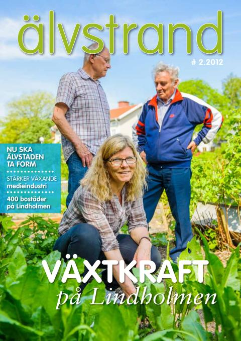 Älvstrand nr 2 2012 - Växtkraft på Lindholmen