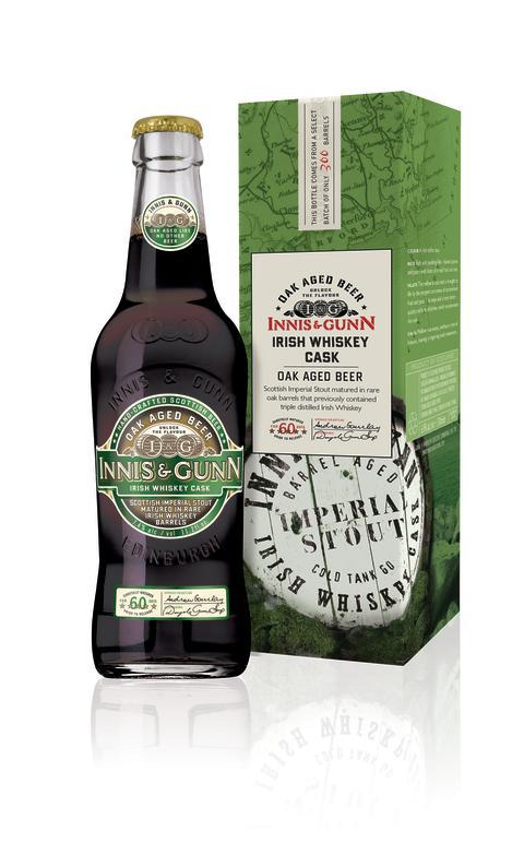 Innis & Gunn Irish Whiskey Cask - Skotsk ale i irländsk skepnad