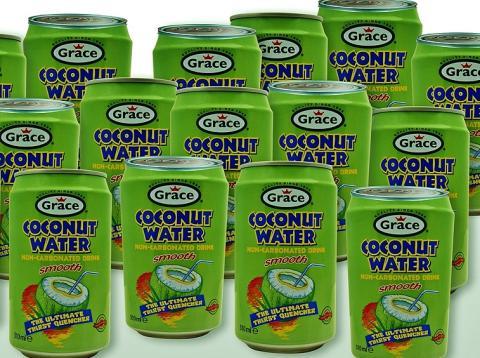 Gray's American Stores lanserar ny Coconut Water i Sverige