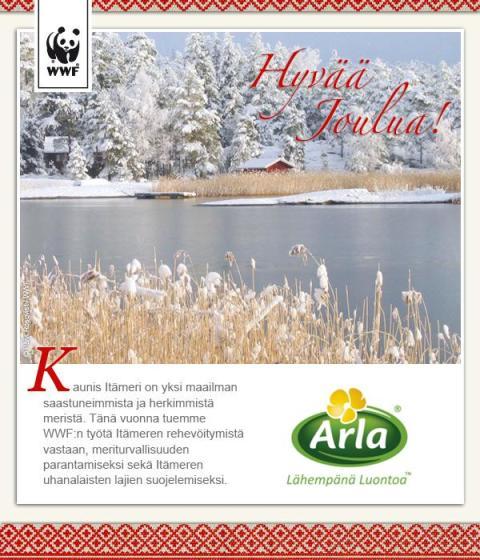 Joululahja Itämerelle