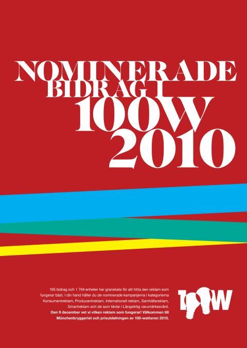 Nomineringsbilaga 100-wattaren 2010