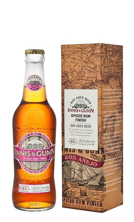 Innis & Gunn Spiced Rum Finish – unikt ölsläpp på Systembolaget.