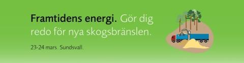Framtidens energi. Gör dig redo för nya skogsbränslen