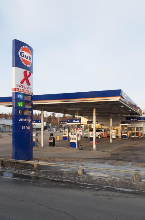 Kommande Gulf-stationer i Sverige