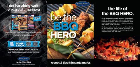 BBQ-recept Santa Maria 2012