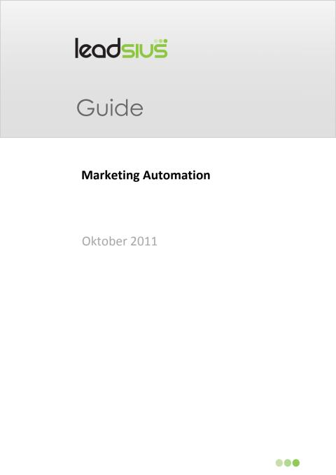 Guide: Vad är Marketing Automation