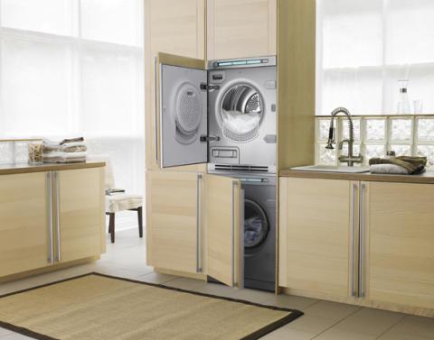 Vaskemaskin med dampvask