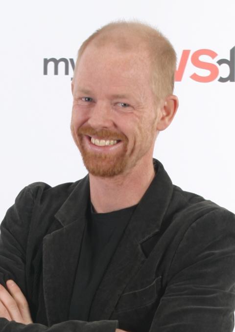 Mynewsdesks Kristofer Björkman på NFI:s konferens Sociala Medier