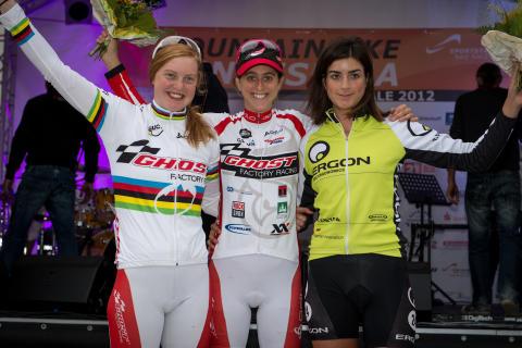 Världsmästarinnan Alexandra Engen försvarade Sprinttiteln i Bundesligan