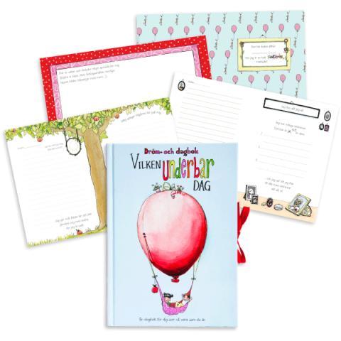 Dröm- och dagbok för barn – stimulerar och stärker självkänslan och fantasin