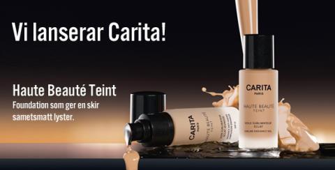 Vi lanserar lyxiga CARITA , -20% på Kanebo och exklusiva gåvor på köpet!
