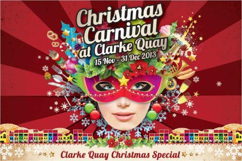 CLARKE QUAY CHRISTMAS CARNIVAL - Clarke Quay