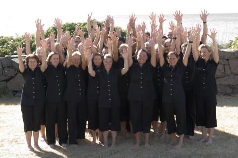 Massörer på Varbergs Kurort
