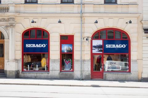 Premiär för Sebago Store i Göteborg