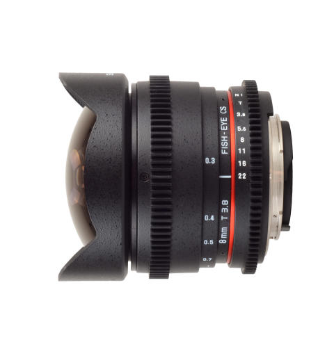 Samyang 8mm T3.8 Fisheye CS sivusta