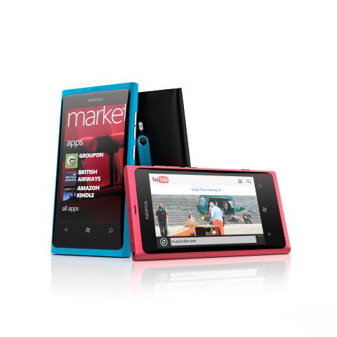 Säljstart för Nokia Lumia 800 i Sverige
