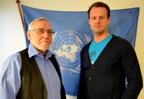 Hønefoss-lærere på vei til FN i New York