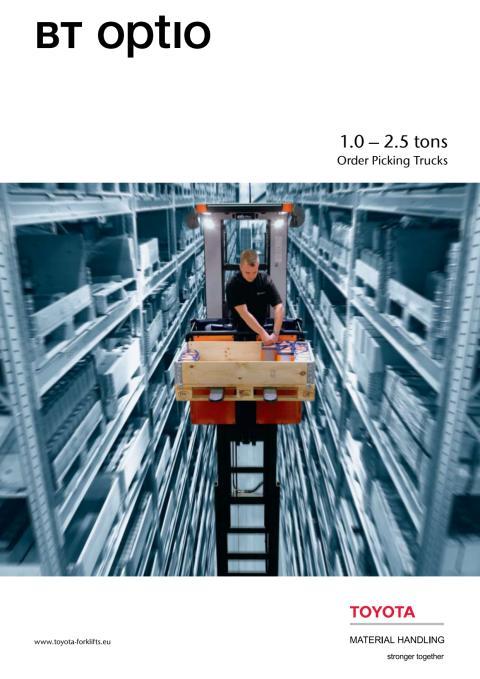 Brochure: BT Optio H-serie plukketruck